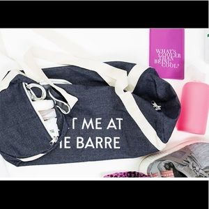 """Private Party Gym Bag - """"Meet Me At The Barre"""""""